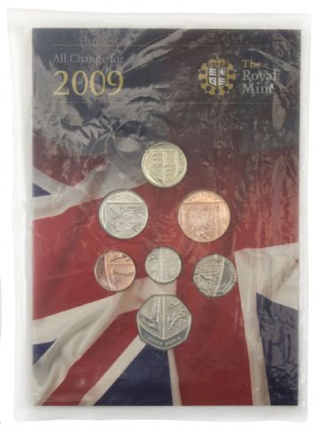 2009 Brilliant Uncirculated Change Coin Collection